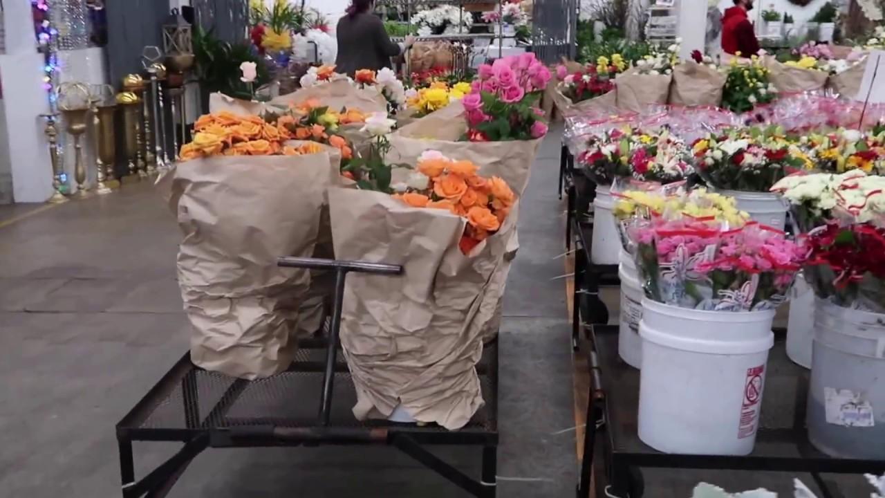 Explore La Downtown La Flower Market Youtube