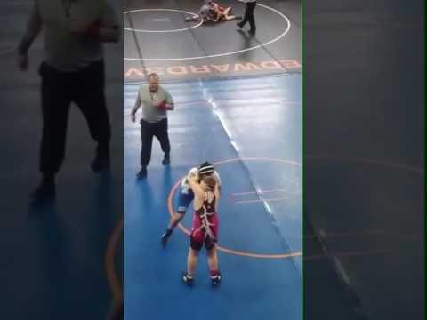 Murphysboro Middle School Wrestling girl beg pt.2