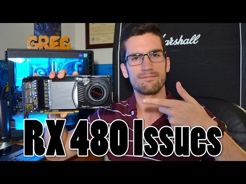 RX 480 Aftermath: Power Issue & Over-Hyping