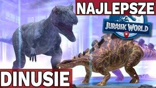 JAKIE DINOZAURY SĄ NAJLEPSZE?  - Jurassic World Alive #3
