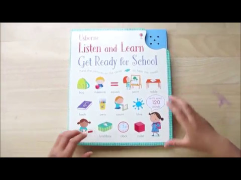 Listen and Learn: Get Ready for School操作示範