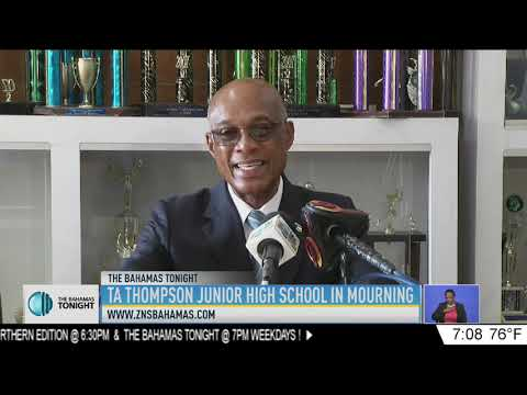 T.A THOMPSON JUNIOR HIGH SCHOOL IN MOURNING