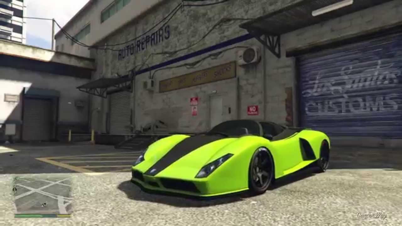 grand theft auto 5 cheetah customization ps4 youtube