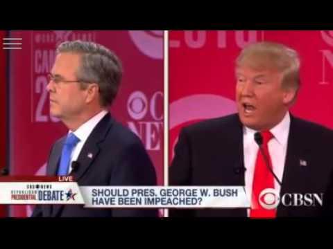 Donald Trump Roasting Jeb Bush