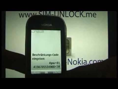 UNLOCKING NOKIA 3720 Classic www.Unlocking-Nokia.com How to Unlock 3720c BY CODE Handy entsperren