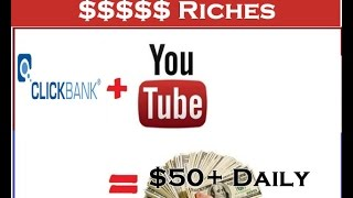 How To Promote CLICKBANK With Youtube | The Best Free Way