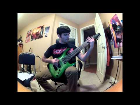 Drop C# | Agile 8 String | POD HD Pro + Half hour study break / Too much After the Burial