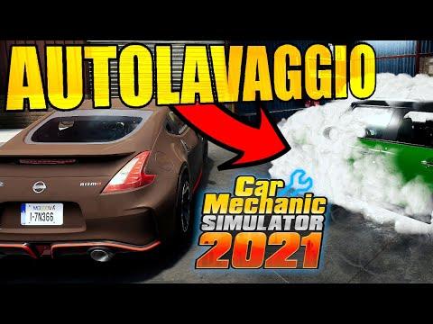 CAR MECHANIC SIMULATOR 2021: AUTOLAVAGGIO