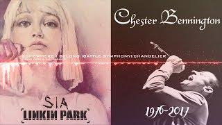 Linkin Park & Sia - Somewhere I Belong (Battle Symphony)/Chandelier [#RIPChester - Mashup]