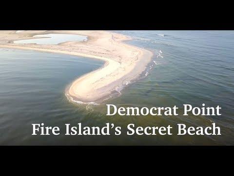 Fire Island's Secret Beach, Democrat Point
