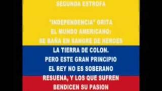 Himno Nacional de la República de Colombia  OFICIAL  ORIGINAL - ANFESO - 3 estrofas - 3.47 minutos