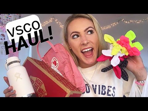 The ULTIMATE VSCO GIRL Haul! What did I get?!