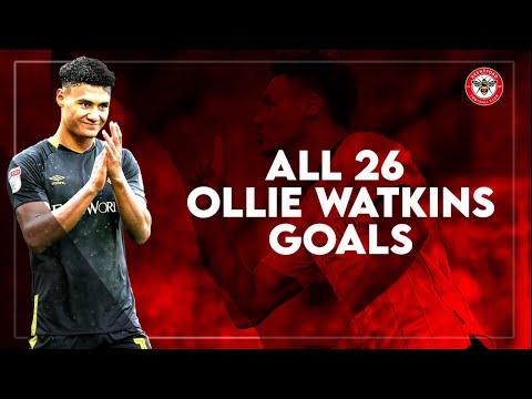 OLLIE WATKINS - ALL 26 GOALS 2019/2020 Season