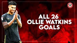 OLLIE WATKINS - ALL 26 GOALS 2019/2020 Season
