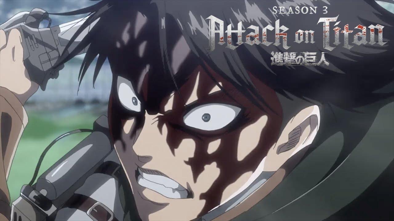 Levi vs Beast Titan | Attack on Titan Crunchyroll