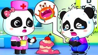 Germs in the Hospital   Sick Song   Good Habits Song   Nursery Rhymes   Kids Songs   BabyBus