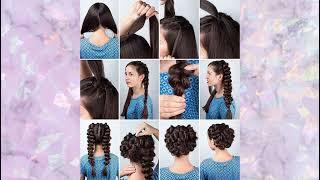 Идеи Причёсок Вечерние Прически на Выпускной Укладка на Вечер Идеи на Скорую Руку Hairstyle Ideas