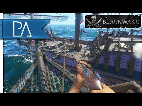 RAIDING THE WEST INDIES - Pirate Ship Battles - Blackwake Gameplay