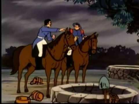 Zorro Cartoon - Flash Flood