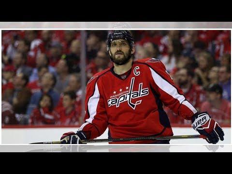 Овечкин в седьмой раз стал лучшим снайпером регулярного чемпионата НХЛ :: Хоккей :: РБК