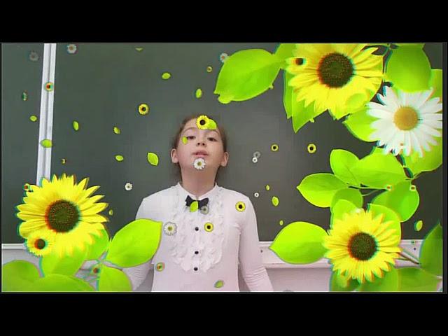 Изображение предпросмотра прочтения – АлисаДжу читает произведение «Весна (Уж тает снег...)» А.Н.Плещеева