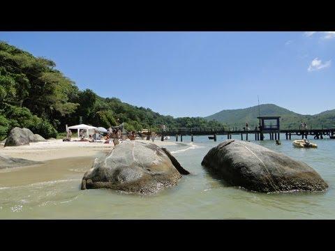 Island Porto Belo Santa Catarina - lovely cruise stop in Brazil in HD !