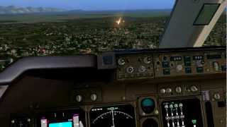TOTO - Africa [Beautiful 747 Landing in Cape Town - FSX HD]