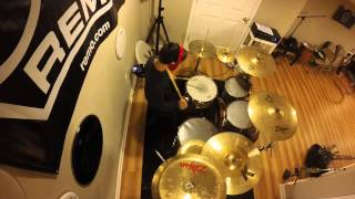 """Travis drum cover of """"Brooklyn"""" by Youngblood Brass Band"""
