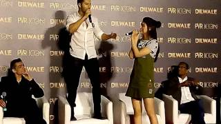 "Dilwale 2nd Song Launch ""Manma Emotion Jaage"" Press Conference"