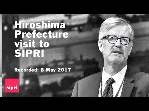 Peace Points: Hiroshima Prefecture visit to SIPRI
