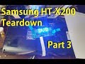 Samsung HT-X200 teardown - Part 3 / LED display control