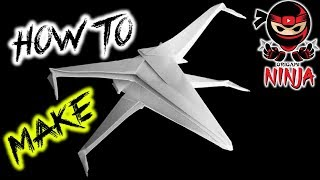How To Fold: Paper Star Wars X-Wing