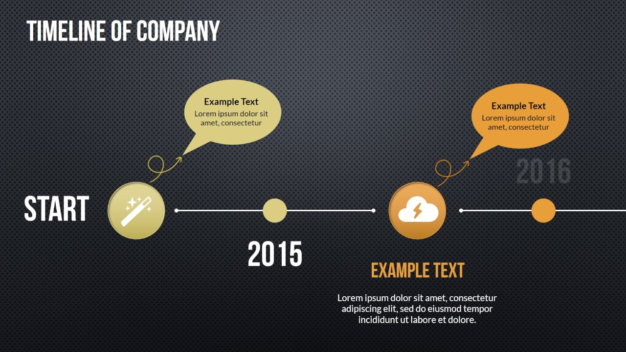 Timeline Maker PowerPoint charts - YouTube