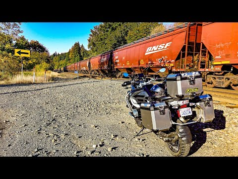 In Search of Trains!! • Dual Vlog on BMW GSA! | TheSmoaks Vlog_701