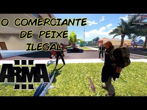 ARMA 3 - SILVER LAKE LIFE - O COMERCIANTE DE PEIXE ILEGAL!