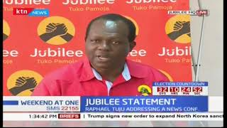 Video Jubilee issues new demands to IEBC ahead of the repeat presidential polls download MP3, 3GP, MP4, WEBM, AVI, FLV September 2017