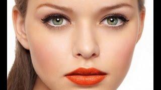 ❀♡Летний макияж/Дневной макияж❀♡(Видео урок: Летний дневной макияж. Создание модного летнего дневного макияжа - легкий макияж глаз и яркие..., 2015-06-04T10:40:54.000Z)