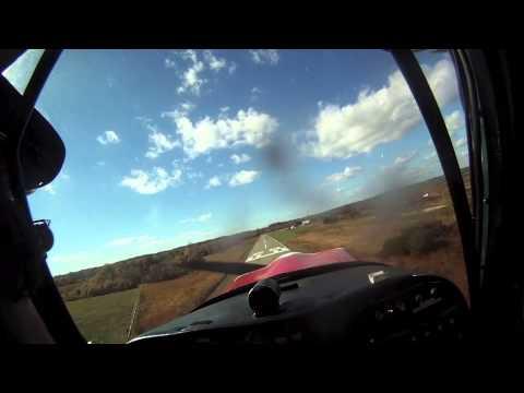 POV Citabria flight to/from Plum Island