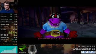 Sly 2: Band of Thieves speedrun in 5:06:58