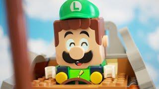 LEGO Super Mario stopmotion anime!「Bowser's Airship Expansion Set Part3」「クッパの飛行船、後編」