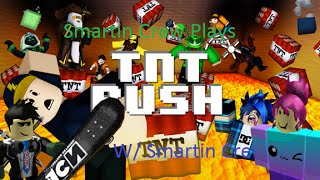 Roblox TNT Rush! Part 3 LEVELING UP!! W/ Penguin, Bey, and KK