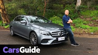Mercedes-Benz E400 2017 review | road test video