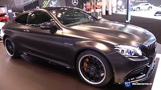 2018 Mercedes AMG C63 S Coupe - Exterior and Interior Walkaround - 2018 New York Auto Show