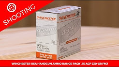 Winchester USA Handgun Ammo Range Pack .45 ACP 230-gr. FMJ