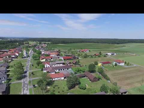 Überflug Steinfurt im Süd Burgenland 2017