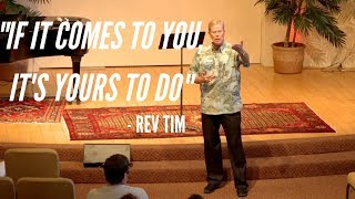 Rev Tim Lytle - Weekly Message - 9 15 19