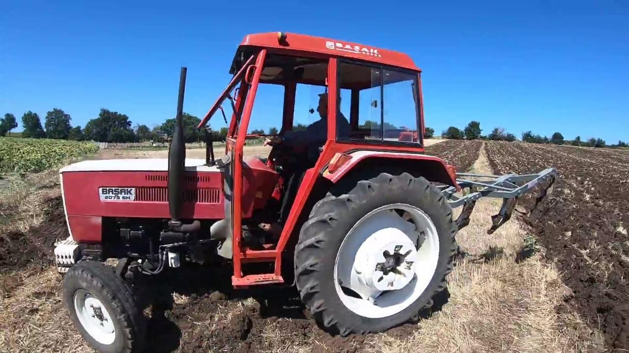cok guzel mazot yakan basak traktor basak 2073