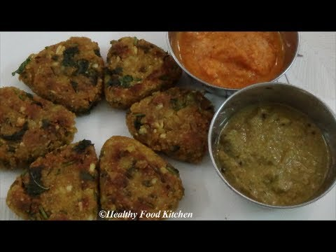 Oats Moong Dal Cutlet-Oats Moong Dal Tikki-Cutlet Recipes By Healthy Food Kitchen