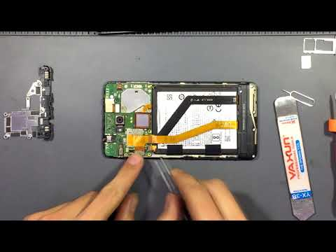 Lenovo K6 Note K53a48. Teardown (disassemble)