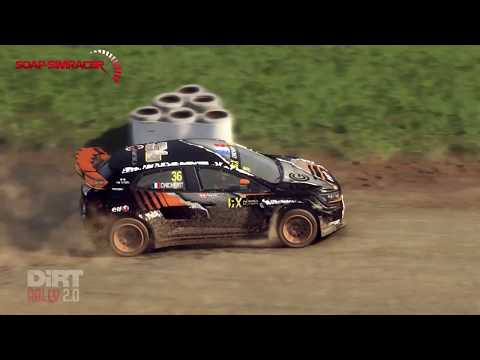 DiRT Rally 2.0 Silverstone Rally Cross - Renault Megane RS RX